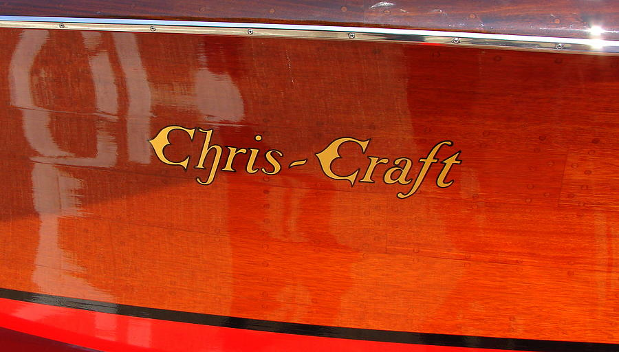 Chris Craft Logo Photograph