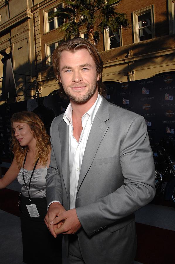 Chris Hemsworth At Arrivals For Captain Photograph