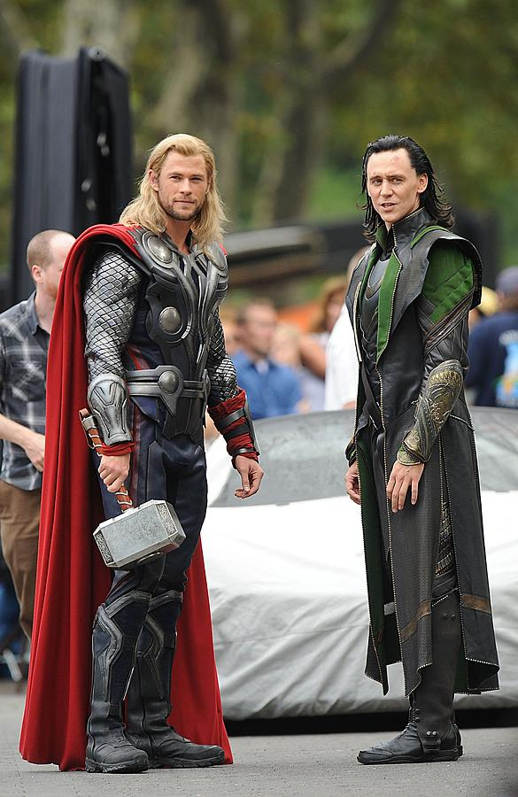 Chris Hemsworth, Tom Hiddleston Photograph