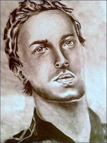 Chris Martin Drawing