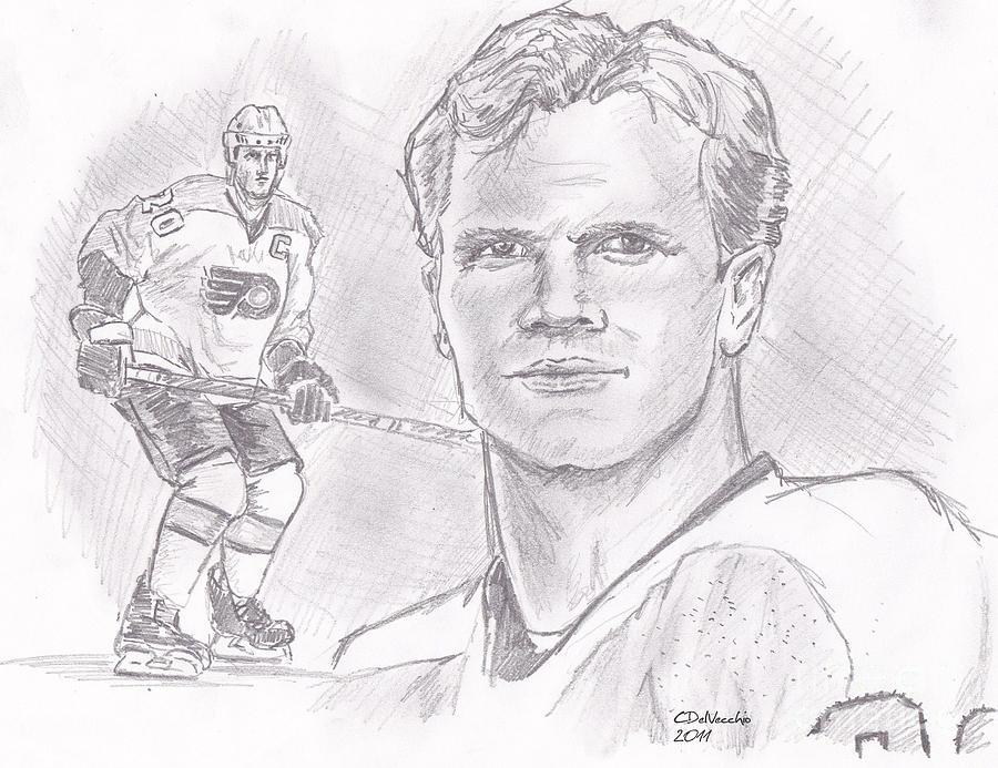 Chris Pronger Drawing