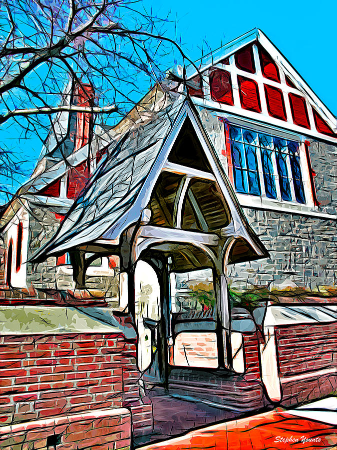 Christ Church Of St Michaels Digital Art