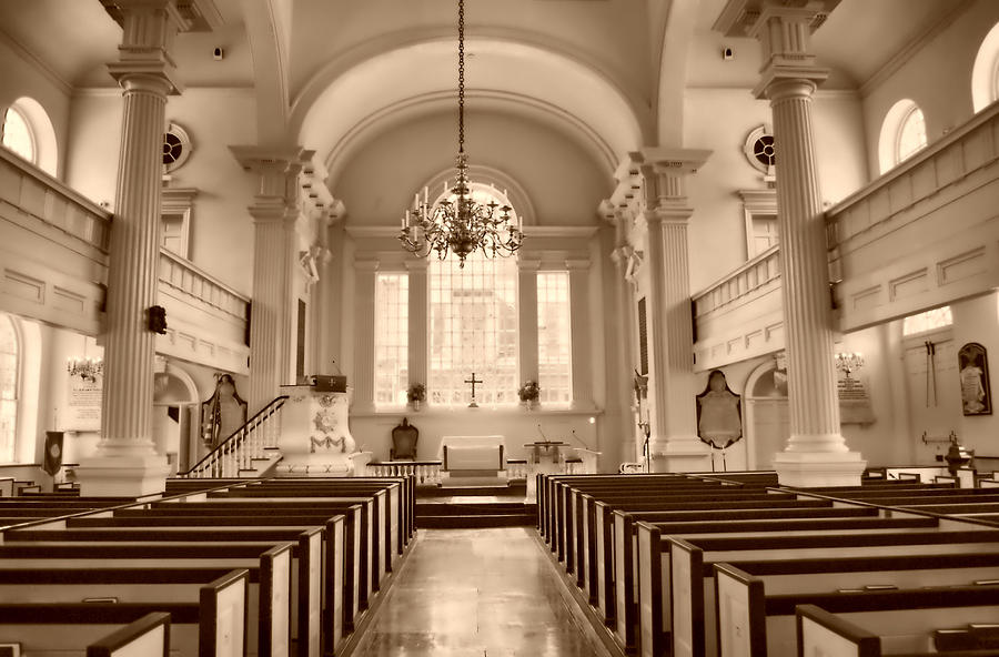 Christ Church Philadelphia Photograph - Christ Church  by Thomas  MacPherson Jr