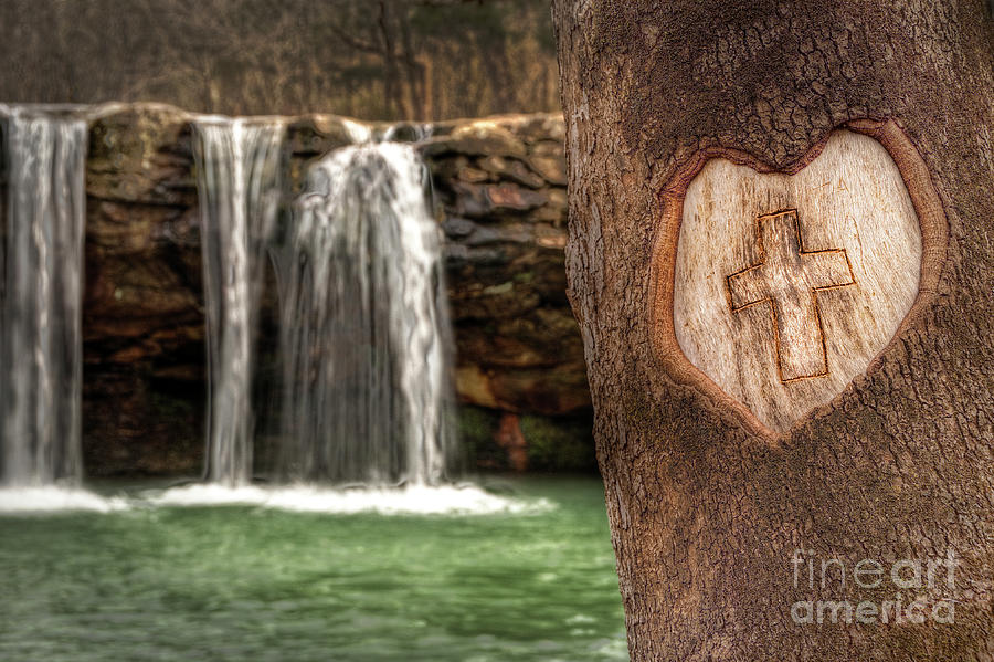 Christ Is Love Photograph  - Christ Is Love Fine Art Print