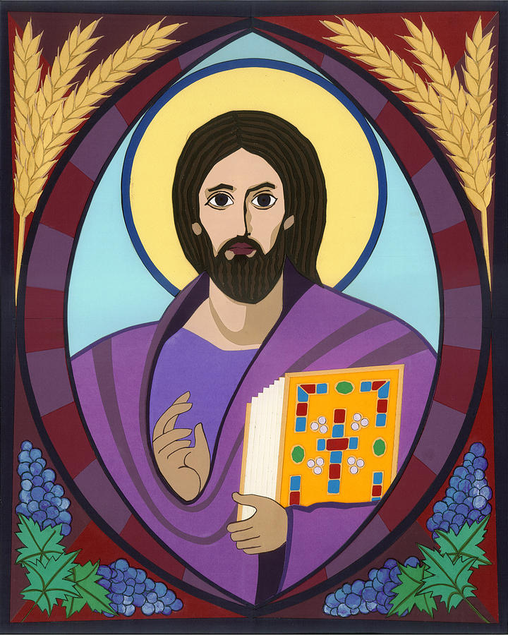 Christ Pantokrator Icon Painting