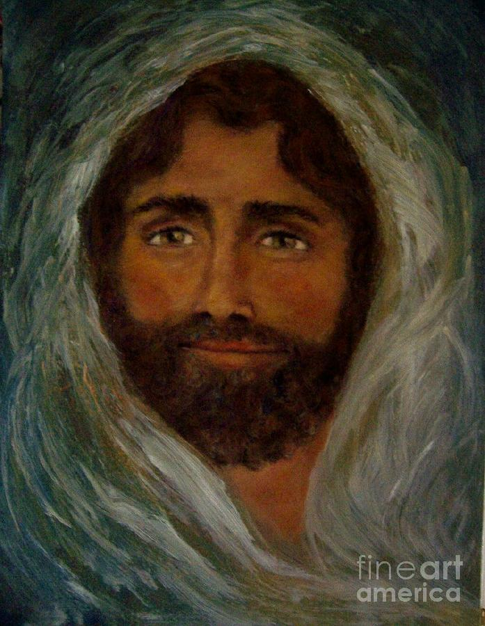 Christ The King Painting by Suzanne Reynolds