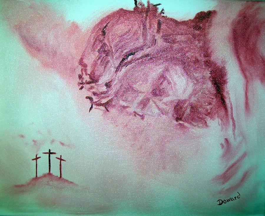 Art Painting - Christ The Redeemer by Raymond Doward