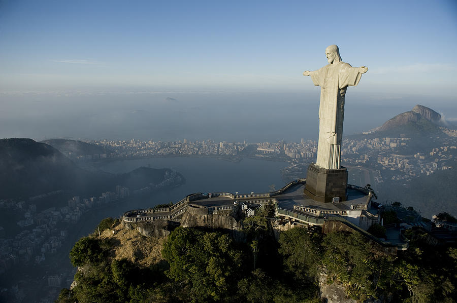 Christ The Redeemer Statue Photograph