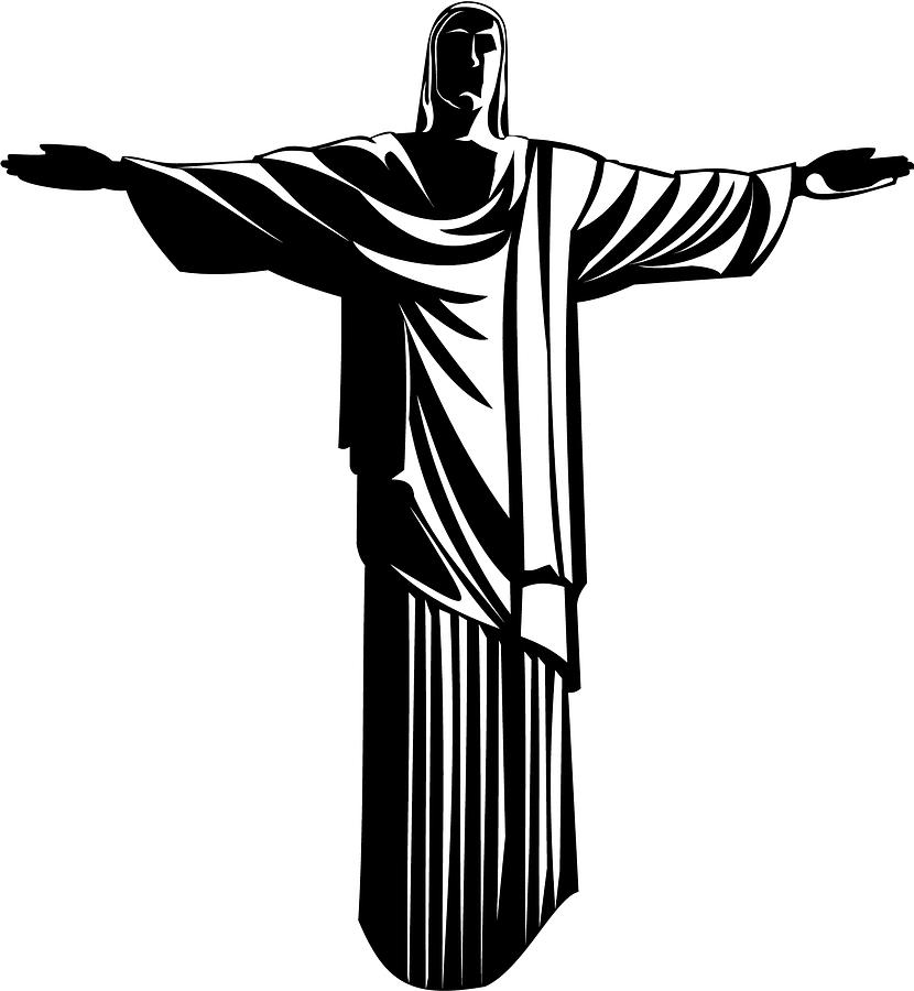 Christ The Redeemer Digital Art