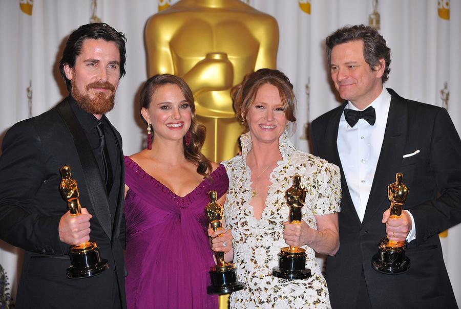 Christian Bale, Natalie Portman Photograph