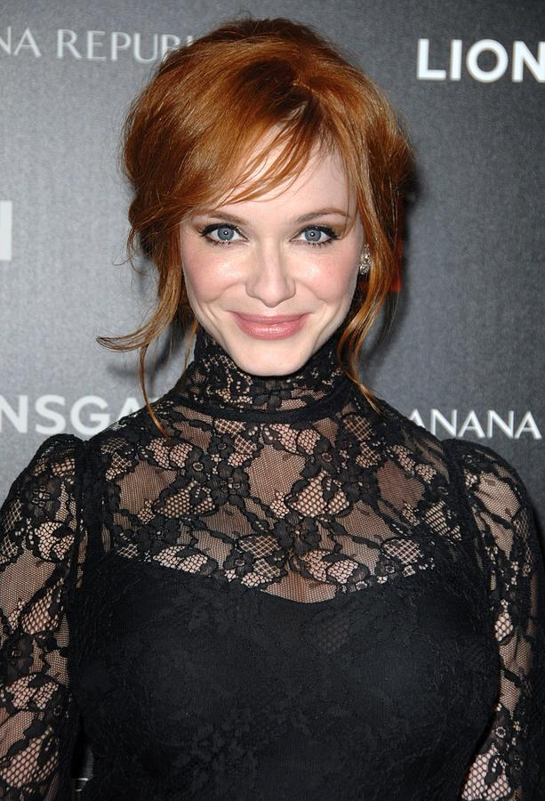 Christina Hendricks Wearing A Dolce & Photograph