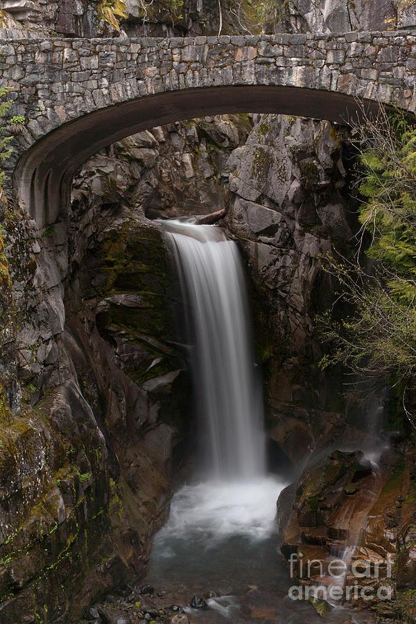 Christine Falls Photograph - Christine Falls Serenity by Mike Reid