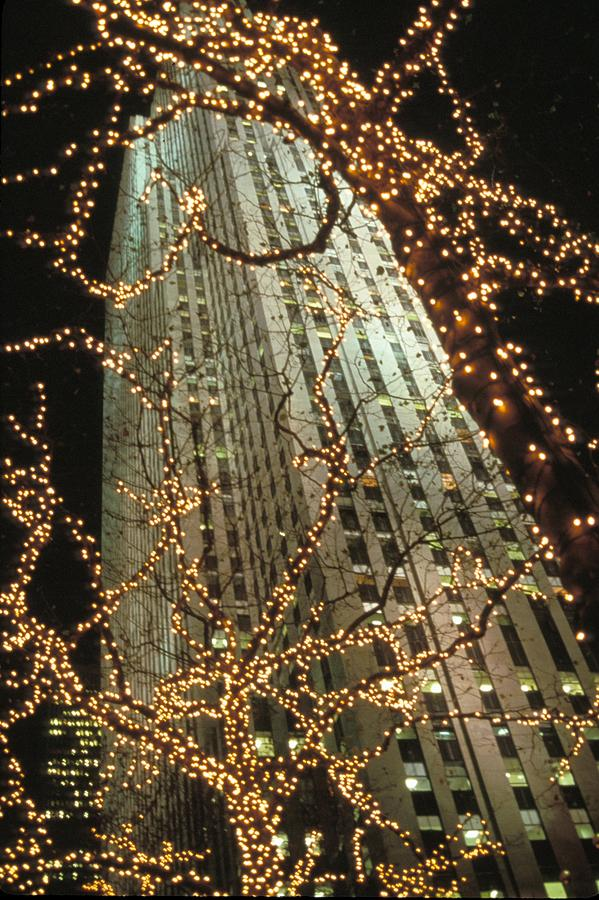 Christmas In Manhattan Photograph  - Christmas In Manhattan Fine Art Print