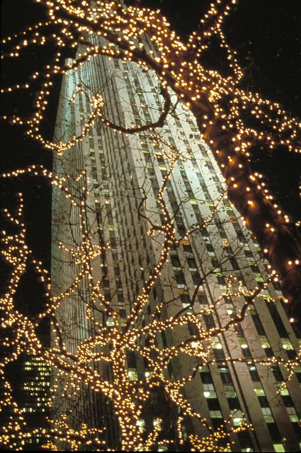 Christmas In Manhattan Photograph