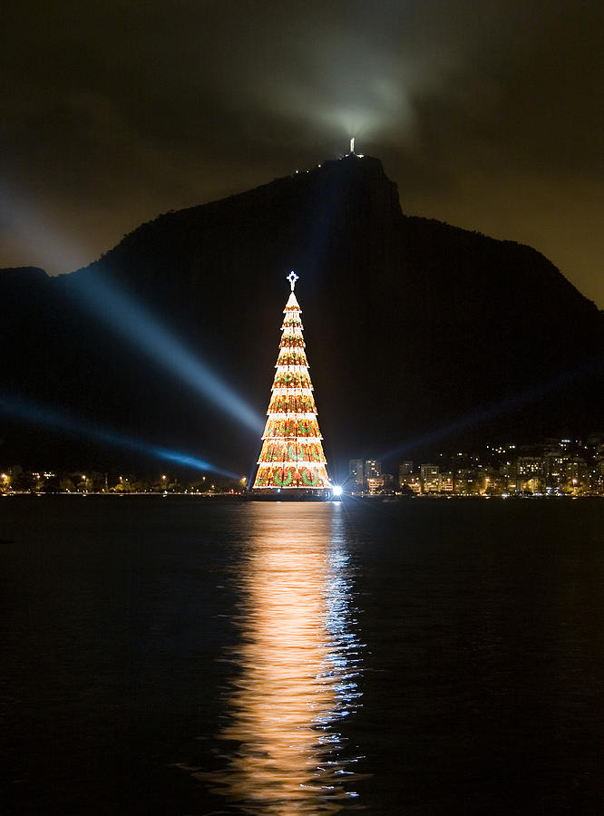 Christmas In Rio Photograph  - Christmas In Rio Fine Art Print