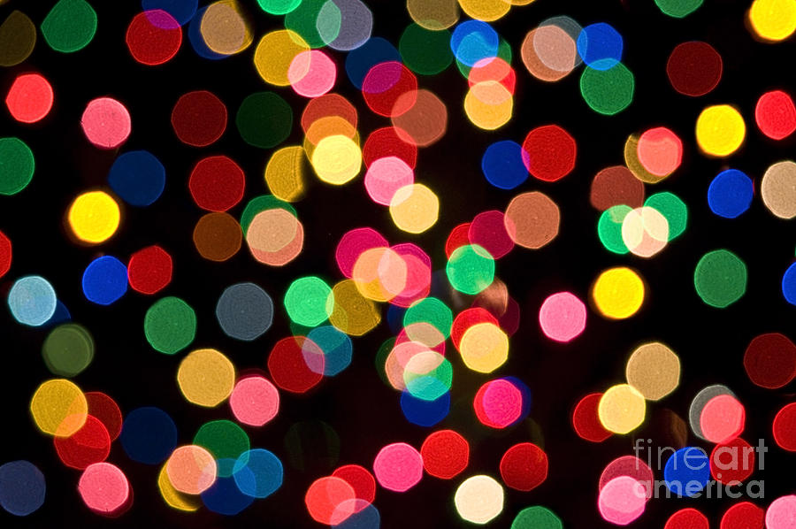 Christmas Lights Photograph