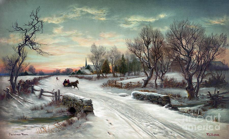Christmas Morn, C1885 Photograph