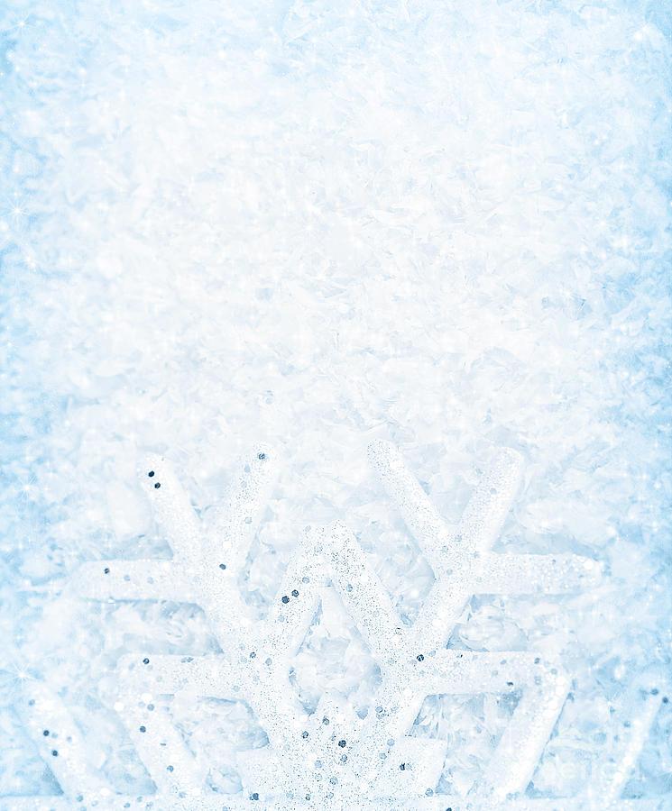 christmas snowflakes border - photo #31