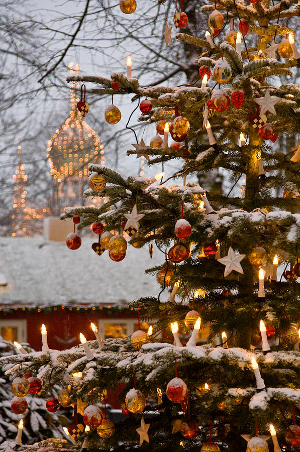 Christmastime At Tivoli Gardens Photograph  - Christmastime At Tivoli Gardens Fine Art Print