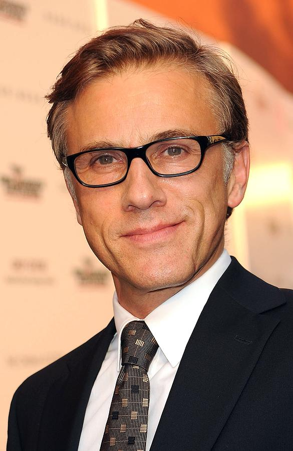 Christoph Waltz At Arrivals Photograph