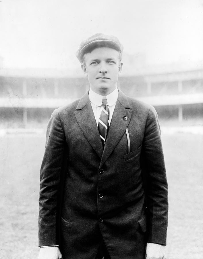 christy Mathewson  Photograph - Christy Mathewson - Major League Baseball Player by International  Images