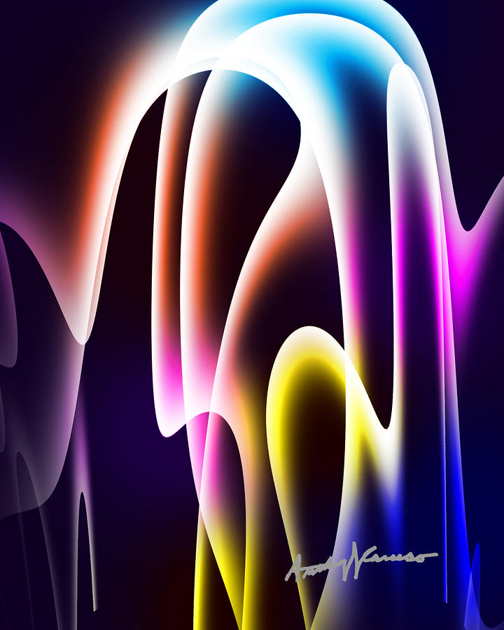 Chromasine Digital Art  - Chromasine Fine Art Print
