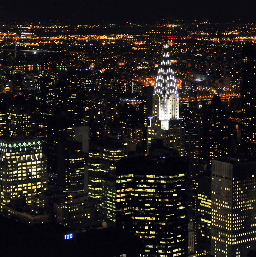 Chrysler Building At New York City Photograph