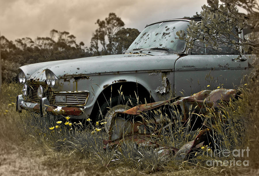 Vintage Photograph - Chrysler Imperial by Karen Lewis