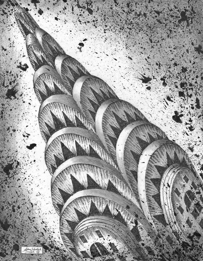 Chrysler Spire Drawing