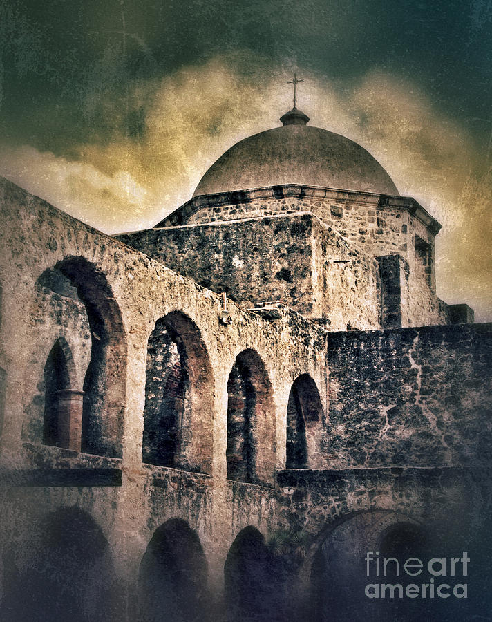 Church Arches And Dome Photograph  - Church Arches And Dome Fine Art Print