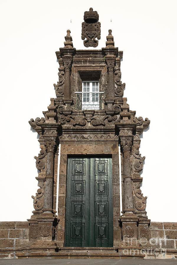 Architecture Photograph - Church Door by Gaspar Avila