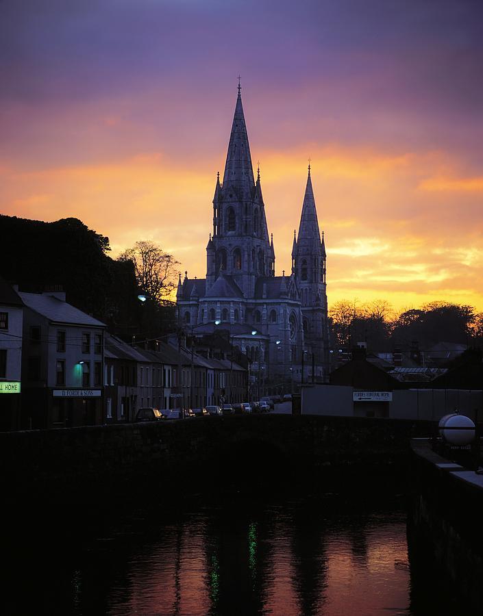 Church In A Town, Ireland Photograph