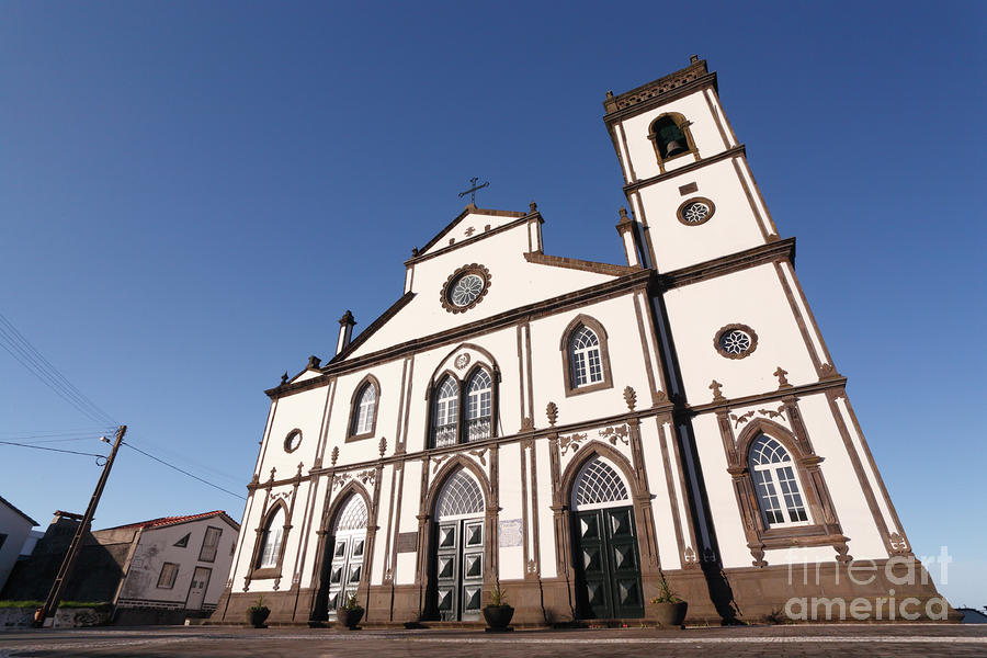 Church In Azores Islands Photograph