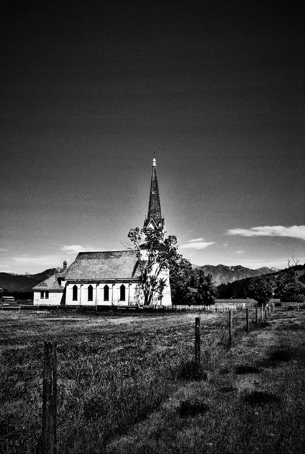 Church In Mountains Photograph  - Church In Mountains Fine Art Print