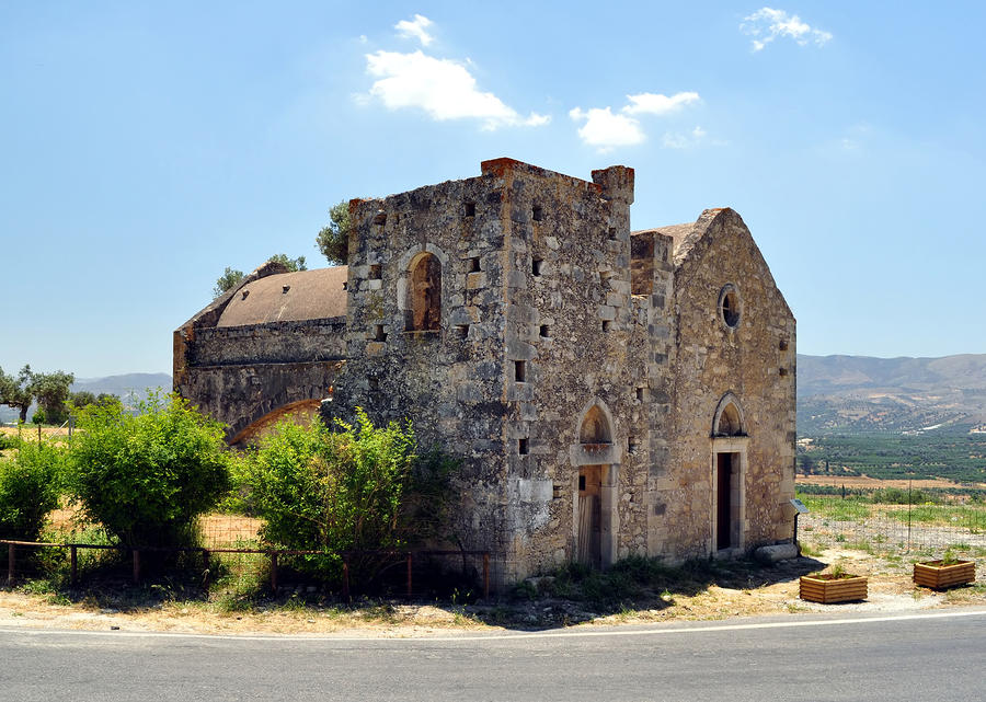 Church Of Ayios Georgios. Photograph  - Church Of Ayios Georgios. Fine Art Print