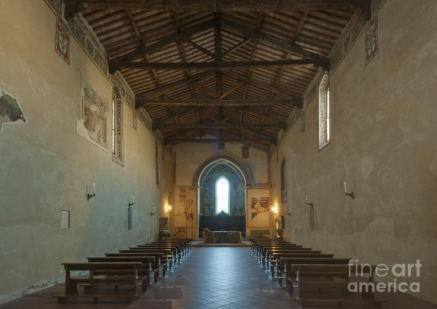 Church Of San Francesco Photograph  - Church Of San Francesco Fine Art Print