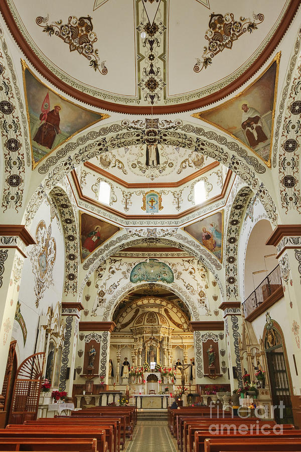 Church Of Santa Domingo De Guzman Photograph  - Church Of Santa Domingo De Guzman Fine Art Print