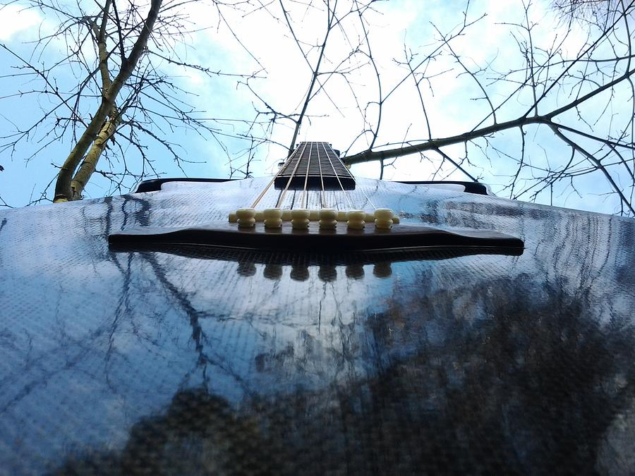 Ciara Guitar 2 Sculpture