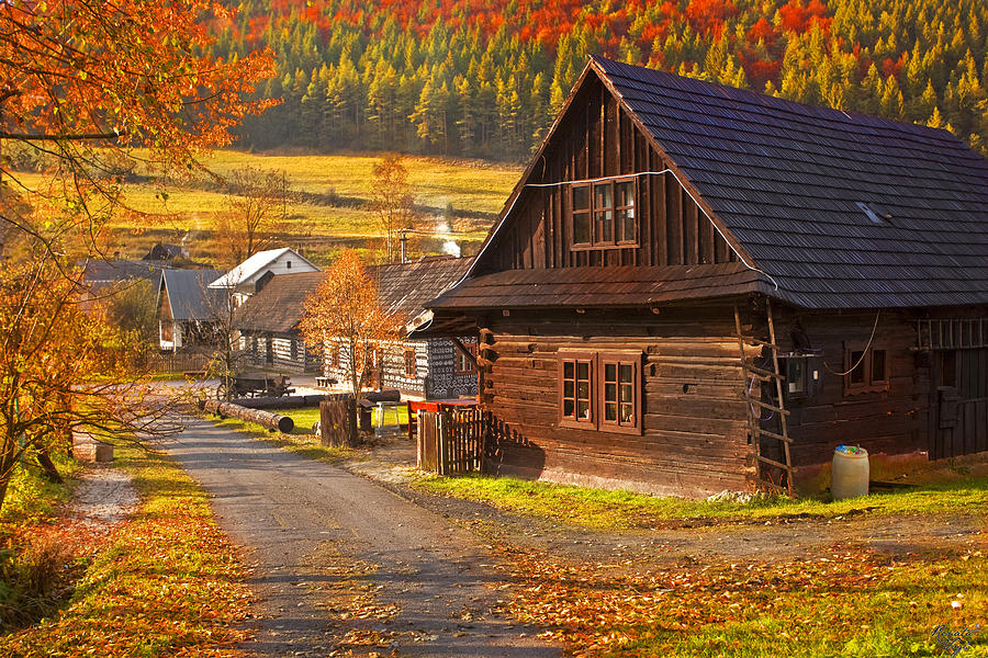 Cicmany -old Village  In Slovakia Photograph