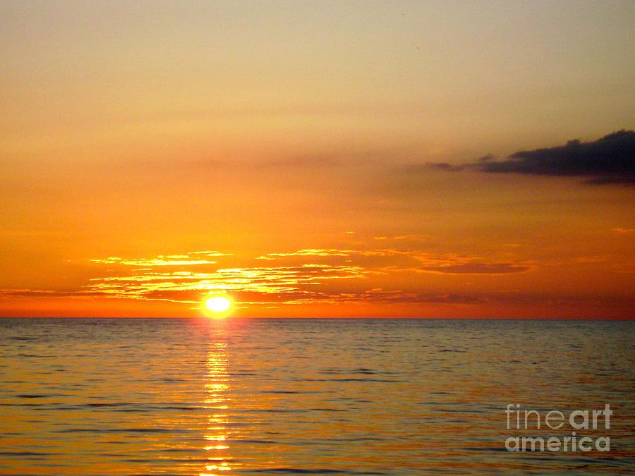 Cienfuegos Sunset Photograph