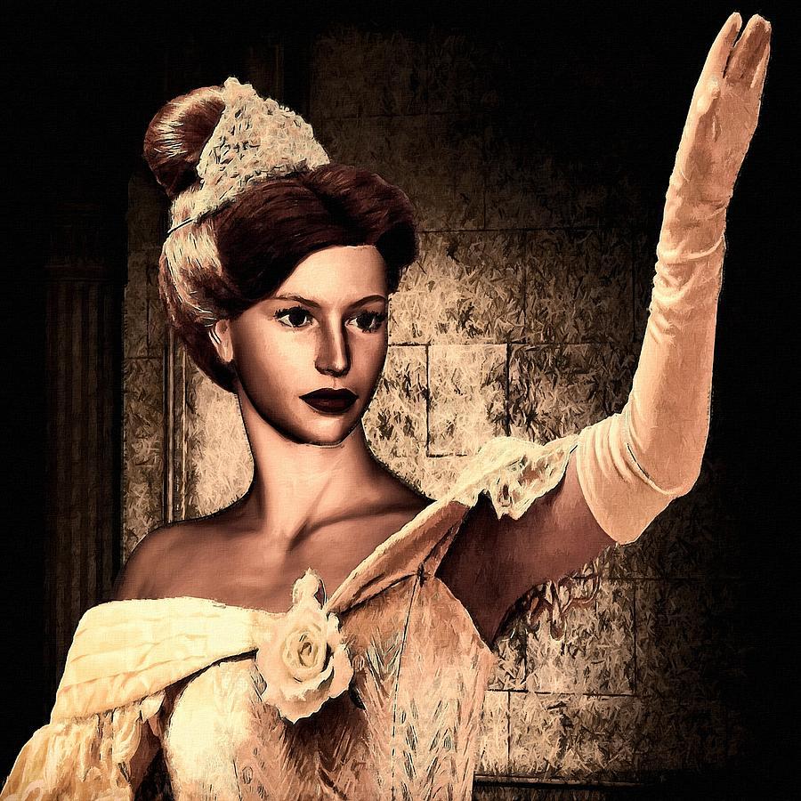 Cinderella Digital Art - Cinderella by Lourry Legarde