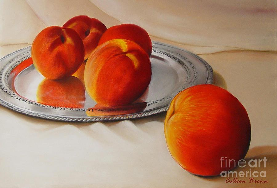 Cinque Pesche Painting