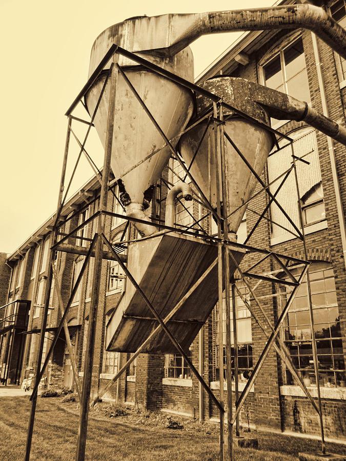 Circa 1901 lowe mill cotton plant huntsville alabama usa in sepia photograph by kathy clark - Lowes huntsville al ...