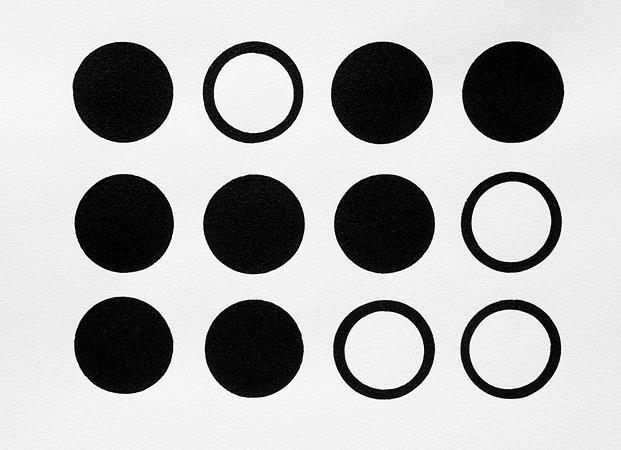 Original Relief - Circles by Scott Shaver