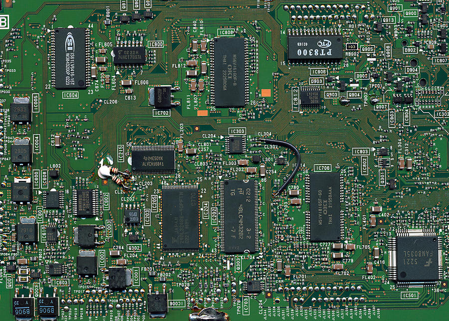 Circuit Board I Photograph