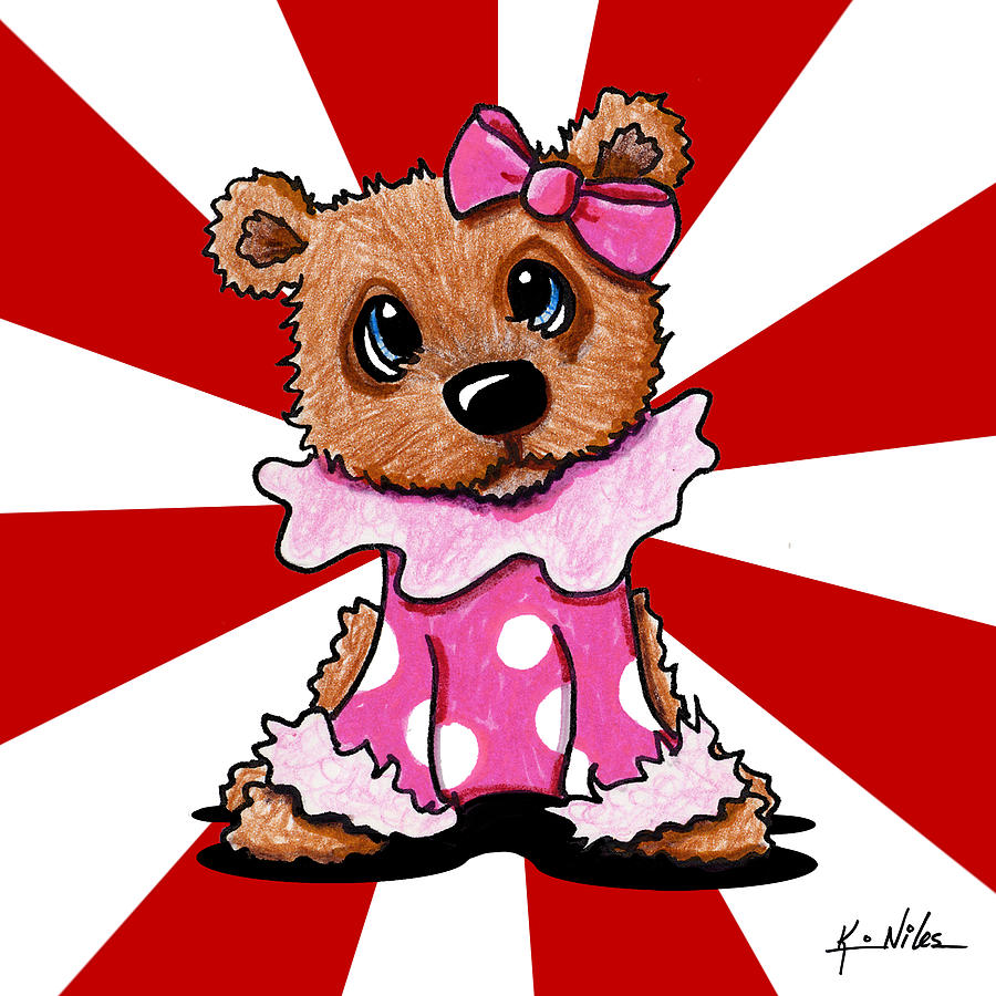 Circus Bear Cutie Drawing