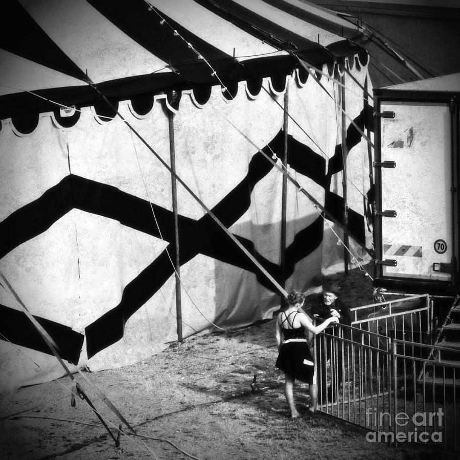 Circus Conversation Photograph