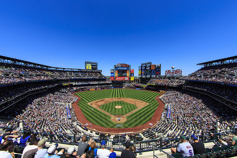 Citifield Photograph  - Citifield Fine Art Print