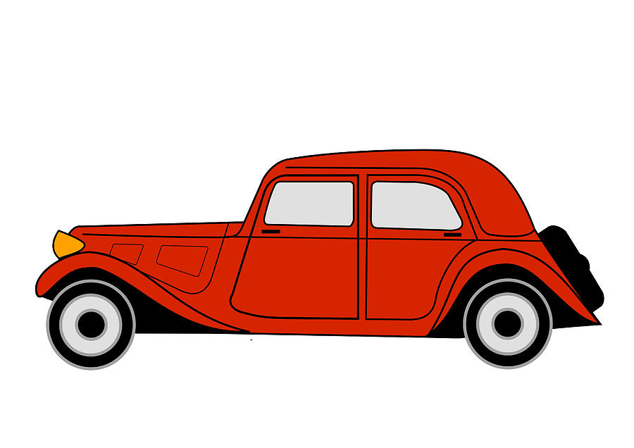 Citroen Traction Avant Digital Art