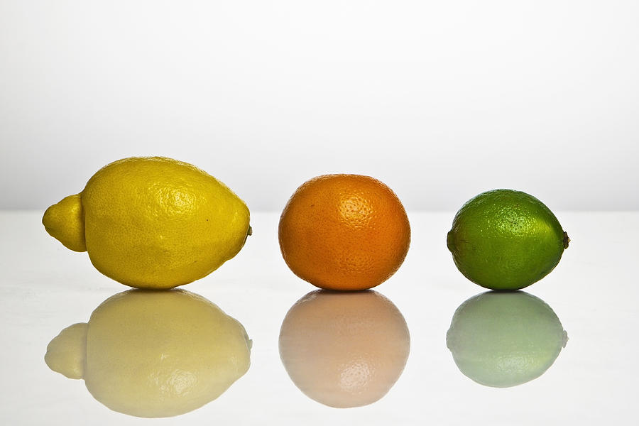 Citrus Fruits Photograph - Citrus Fruits by Joana Kruse
